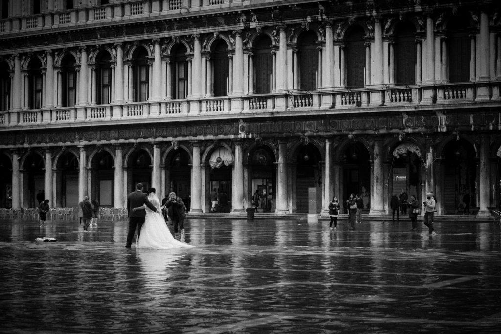 mariage Venise aqua alta